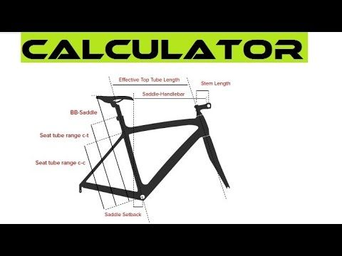 Best Online Bike Fit Calculator - How To Choose The Right ...