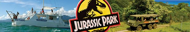 """""""You do plan to have dinosaurs on your dinosaur tour, right?""""  Cruise to Hawaii and enjoy Kualoa as a shore excursion in Oahu!  Tour movie sites of """"Jurassic Park"""" and more. 