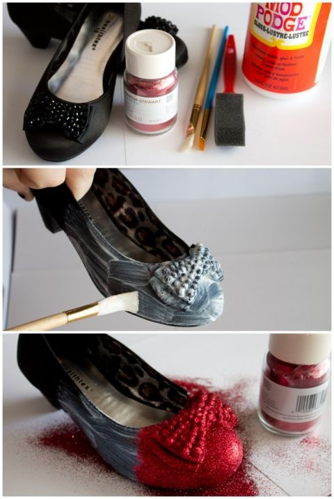 Wizard of Oz Dorothy Red Slippers Tutorial | anightowlblog.com