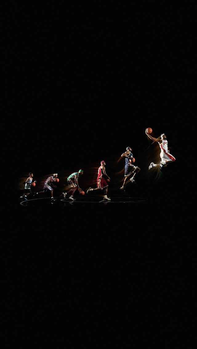 Lebron James NBA Basketball Superstar iPhone 5 Wallpaper