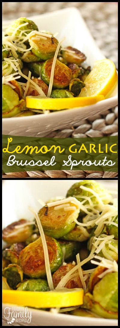 These Sautéed Lemon Garlic Brussel Sprouts are such a great side dish for Springtime. They are light and buttery with a hint of fresh lemon.