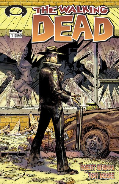obsessed with The Walking Dead, i have none of their comics, i'd love a volume to start me off! (there at Barnes and Noble for like 15$ if you can find volume 1 that'd be great otherwise really any volume will do i'm going to start collecting them when i can)