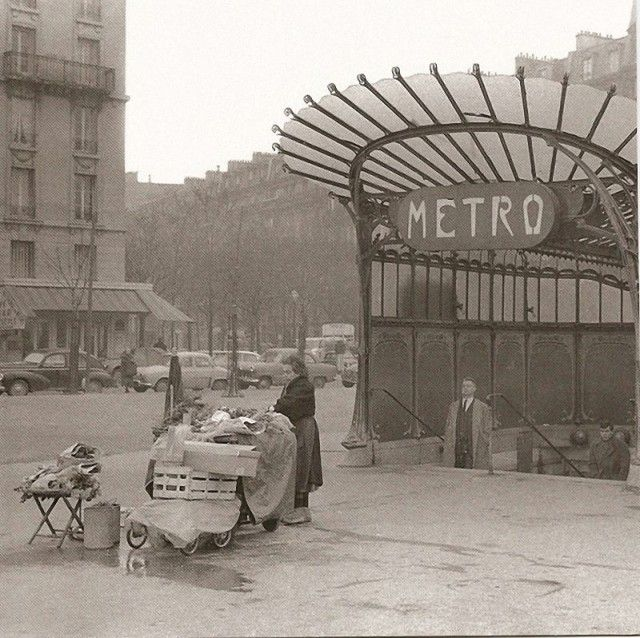 Vieilles photos de Paris