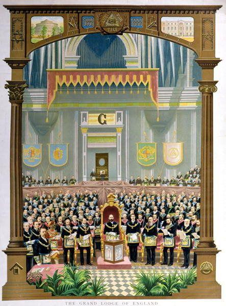 the grand lodge of england voting the congratulatory