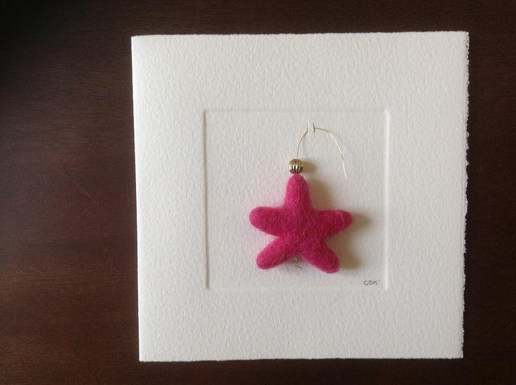 MISU card design   little pink star