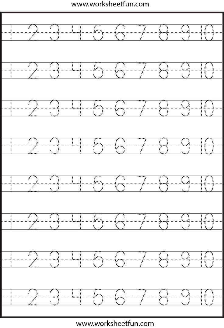 123 Worksheets Worksheets for all | Download and Share Worksheets ...