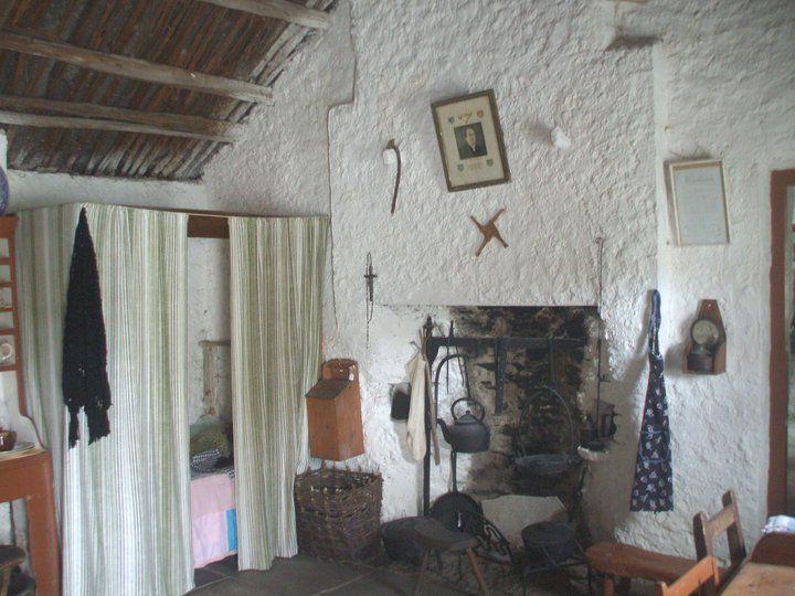 Glencolmcille Folk Village Interior Of One Of The