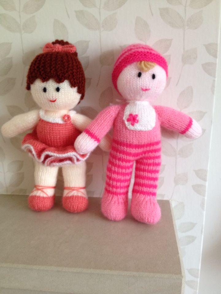Ballerina Amp Baby By Jean Greenhowe Knitting Crochet