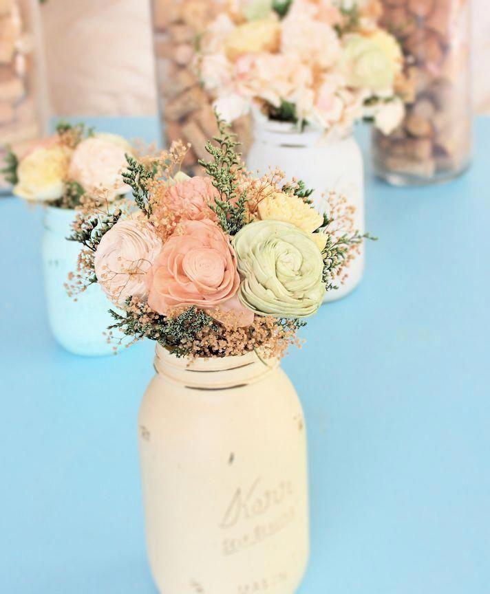 Wedding Centerpiece Flowers Small Wedding Reception Spring