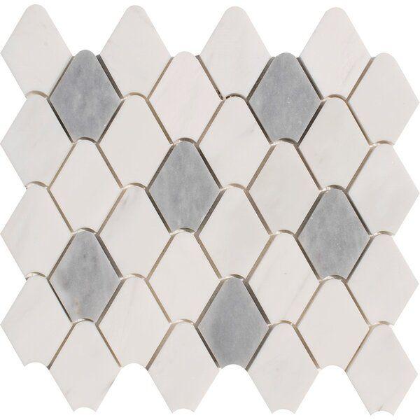 Rain Drop 2 X 3 Marble Mosaic Tile In 2020 Marble Mosaic Tiles Marble Mosaic Mosaic Tiles