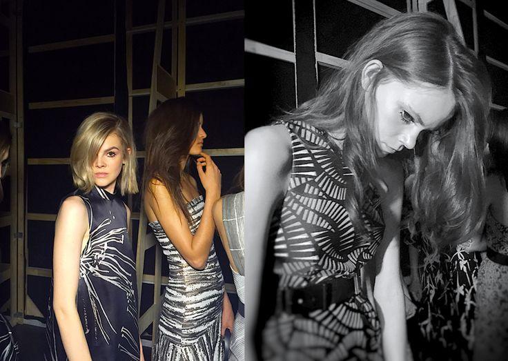 HAIR DIRECTION RENYA XYDIS @ THE ARTIST GROUP FOR WELLA PROFESSIONALS GINGER & SMART SS15 Make Up: Victoria Baron Stylist: Mark Vassallo