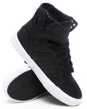Buy Skytop Embossed Mesh Hightop Sneakers Women's Footwear from Supra. Find Supra fashions & more at DrJays.com
