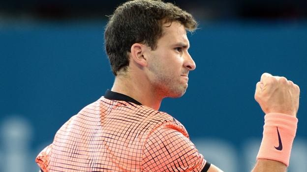 #tennis #news  Dimitrov beats Raonic to reach final