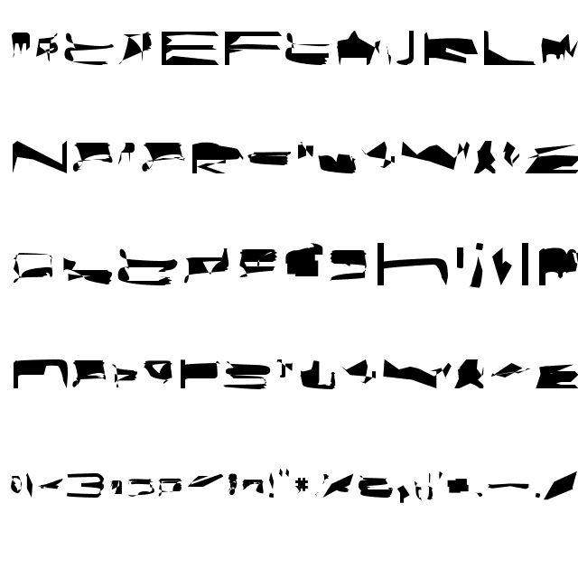 bitstorm maximumextended Font