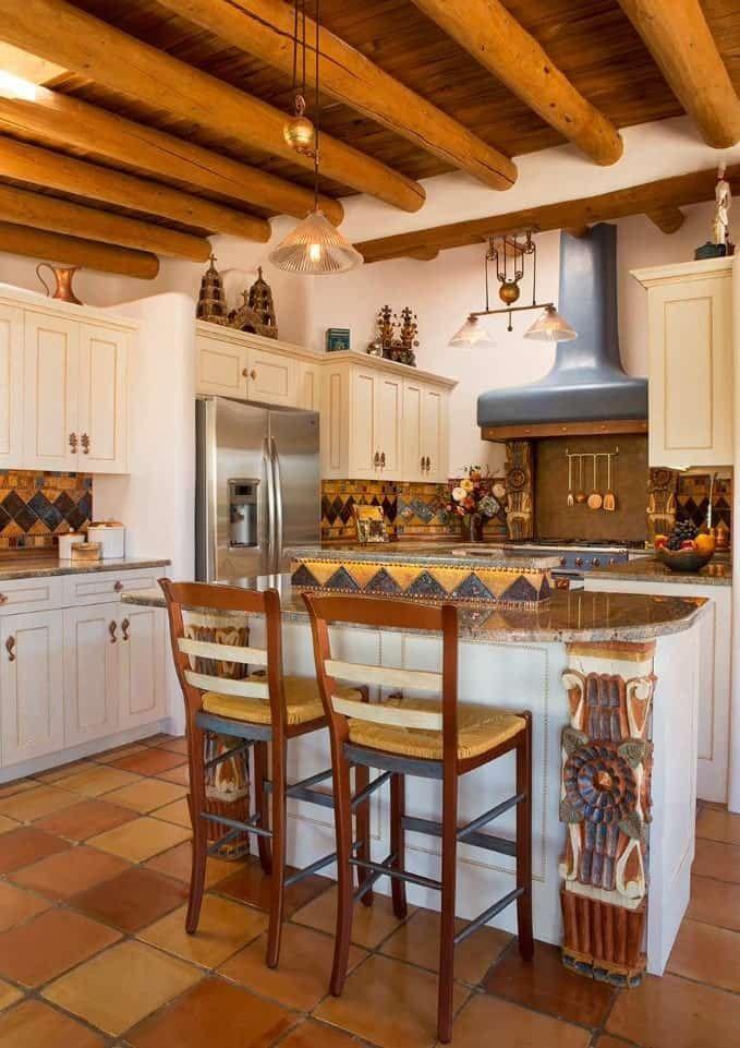 65 Southwestern Kitchen Ideas Photos Kitchen Design Southwest Kitchen Eclectic Kitchen