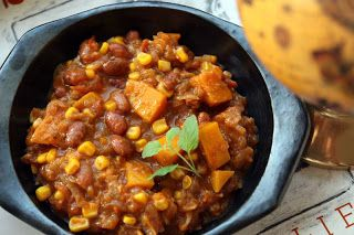 A2K - A Seasonal Veg Table: Chilean Stew with Corn and Beans