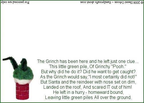 Christmas Grinch Poop Poem And Bag Tag 1 Tags Poem And