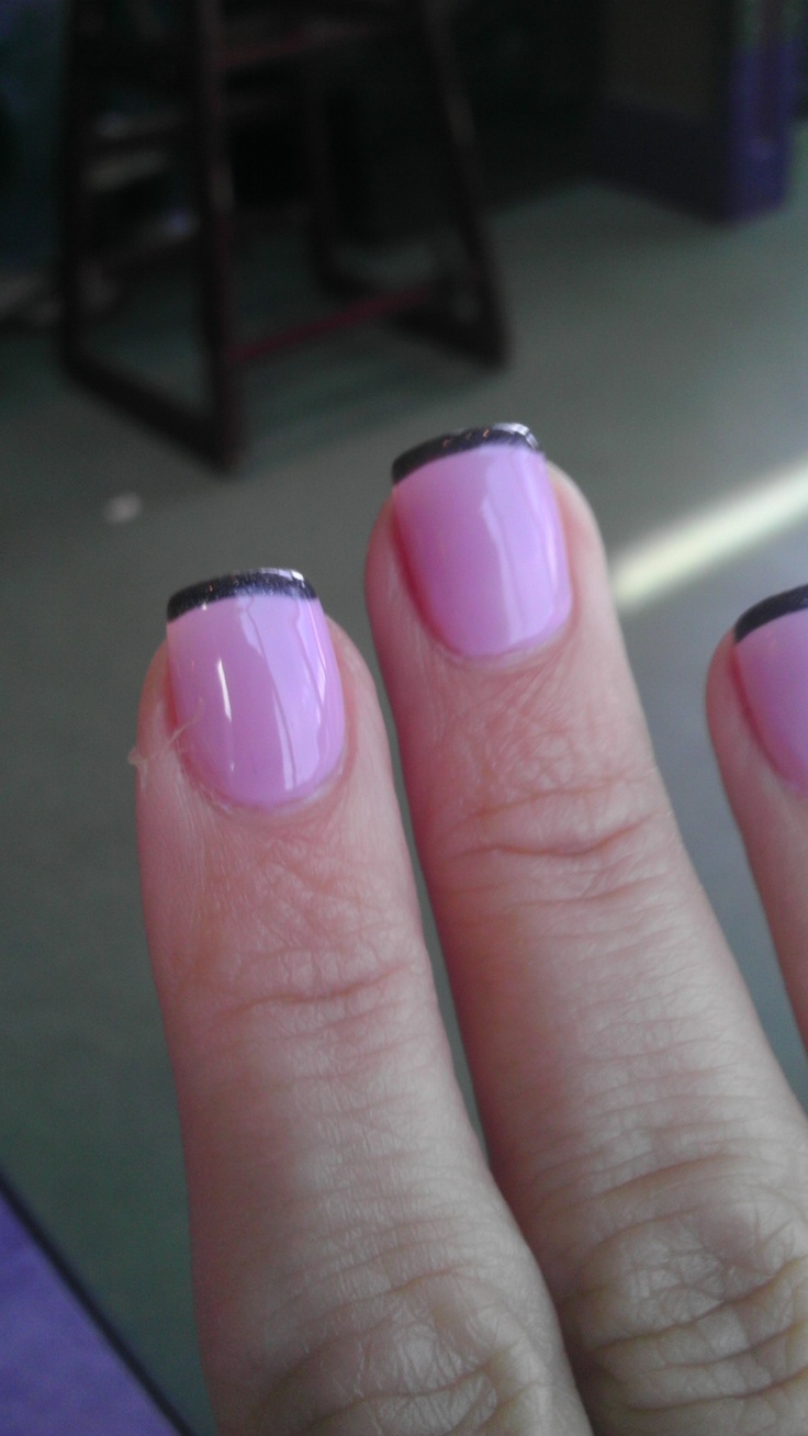 My new French manicure.