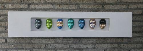 Color faces er et moderne og tøft bilde for de som vil ha noe utenom det vanlige.   Mål: Høyde 25 cm Lengde 120 cm