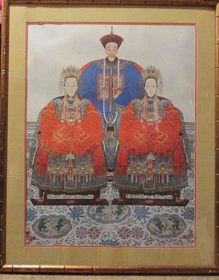 53 best chinese ancestor paintings images on pinterest asian art anonymous chinese ancestor portrait 19th century watercolor casein framed 36 asian sciox Gallery