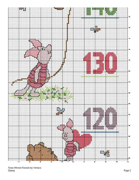Pooh Height Chart 3/4