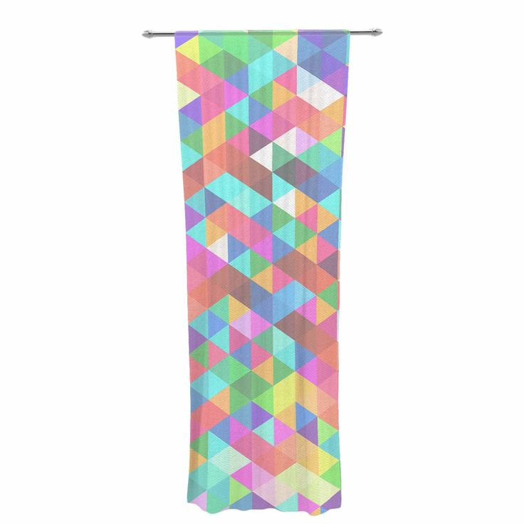 Let the light in with these sheer artistic curtains. Showcase your style with thousands of pieces of art to choose from. Spruce up your living room, bedroom, dining room, or even use as a room divider