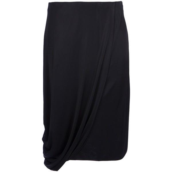 VIKTOR & ROLF draped skirt ($620) ❤ liked on Polyvore
