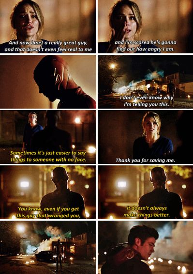 #TheFlash2x09 - I have made my whole life about getting justice for my father, even if it meant I didn't have a life.