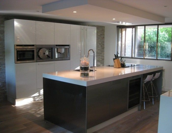 25 beste idee n over keuken schiereiland op pinterest keuken bartafel ontbijttafel keuken en - Bar design keuken ...