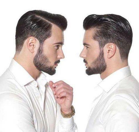 Mens Pompadour Hair