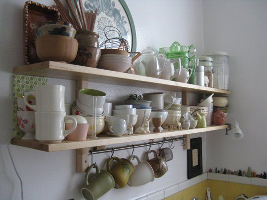 Before and After:   My Ikea Shelf Epiphany. I Love the points in this article Thank You for posting your before and after!