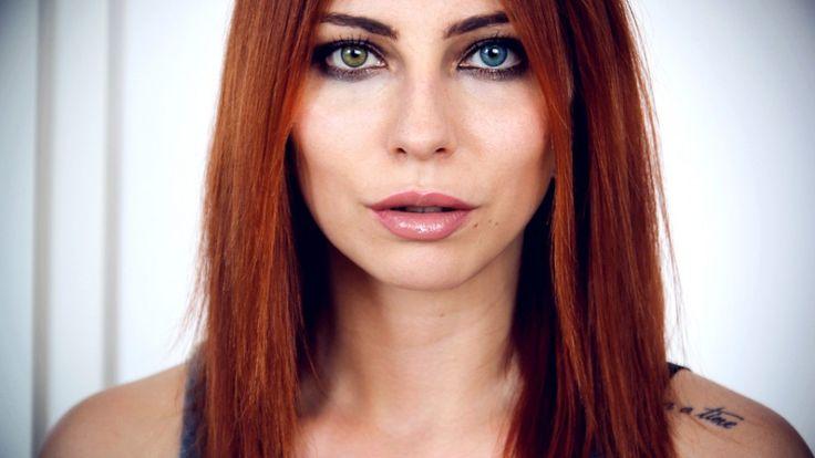 Masha Sedgwick trägt Air Optix Colors #Beauty #Styling