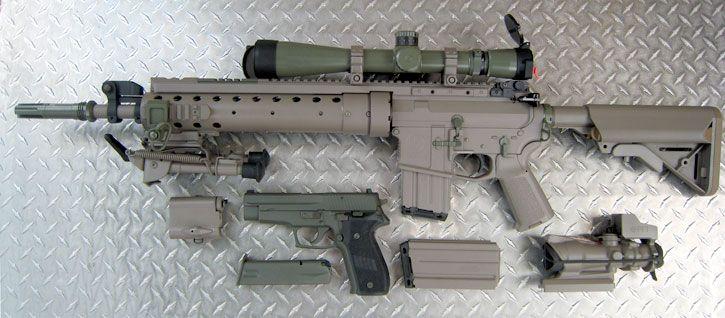 black-market-cash:SUPER sexy SPR Mk12 Mod 0 and Sig | Guns ...