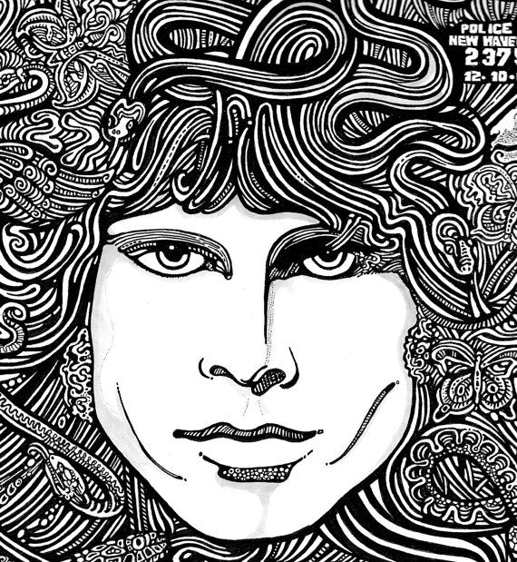 The Doors Poster Jim Morrison by Posterography  sc 1 st  Pinterest & 45 best *The~?~Doors* images on Pinterest | Jim morrison Jim o ... pezcame.com