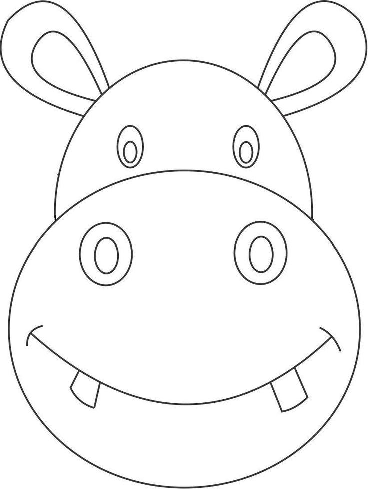 Mejores 9 imágenes de Hippo\'s en Pinterest | Colorante, Animales y ...