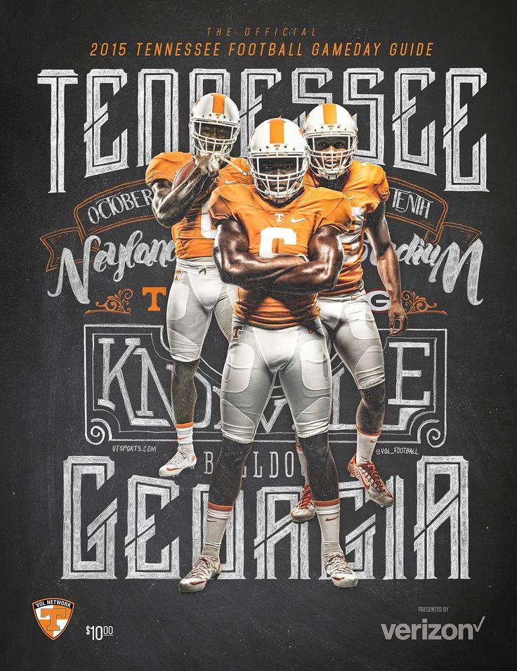 Tennessee Football Season Ticket / Program Design on Behance