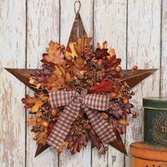 Fall Decorating Craft Ideas | ... Door Wreaths Offering Great Craft Ideas and Cheap Fall Decorations