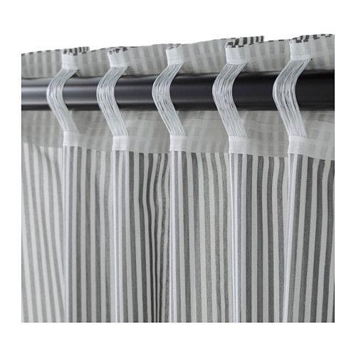 Oltre 1000 idee su appendere le tende su pinterest tende - Tende a filo ikea ...