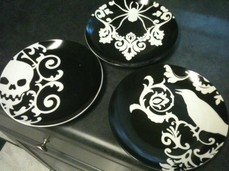 Perfect Plates From Hobby Lobby · Gothic KitchenKitchen ItemsKitchen  UtensilsThe RavenHalloween ... Part 37