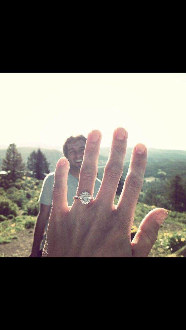 Perfect proposal picture to send to your friends