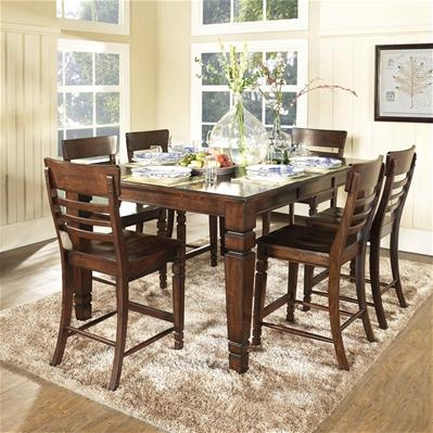 Dorel Asia | Holden 7 Piece Counter Height Dining Set