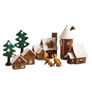 Felt Gingerbread House Set - New! | Shop entertainment | Kaboodle