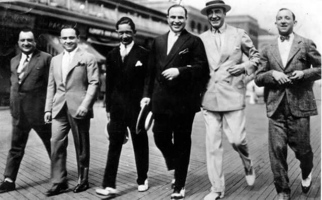 Capone headed a gang in Chicago that made millions of dollars a year through bootlegging, gambling, and other illegal activities. Intact, they made up to 100 million a year.