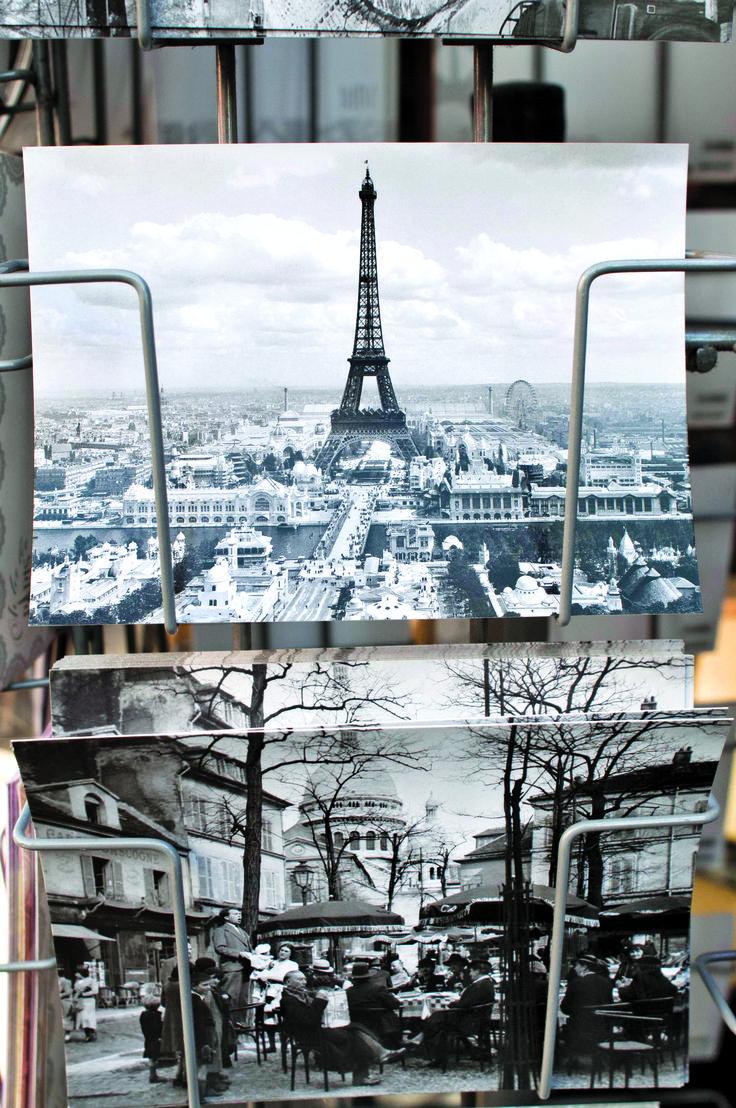 Postcards from Paris.