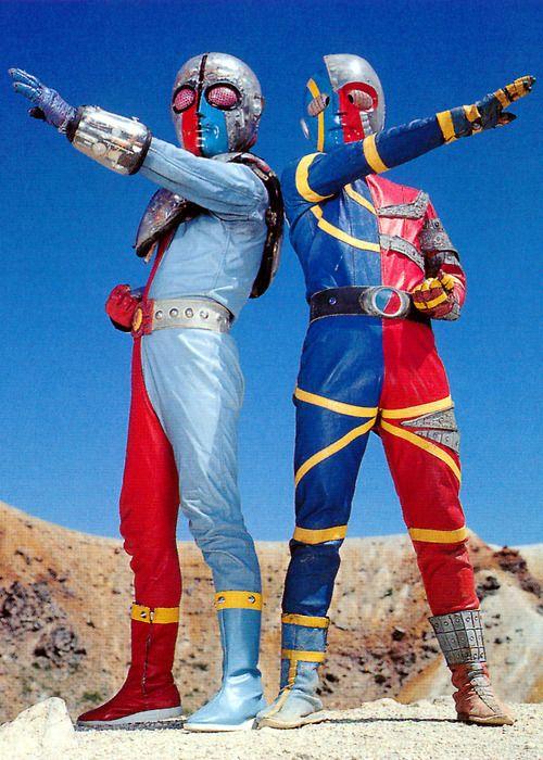 キカイダー01とキカイダー...兄弟! (The Kikaida Brothers)