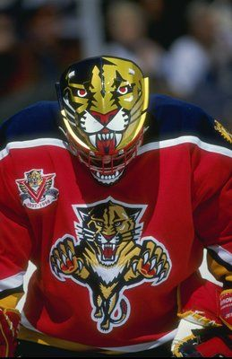John Vanbiesbrouck #Panthers #Classic Proably the greatest mask of all time