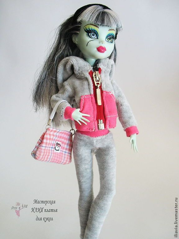 Купить Толстовка для Монстров Хай - подарок для девочки, монстр хай, платье для монстров хай