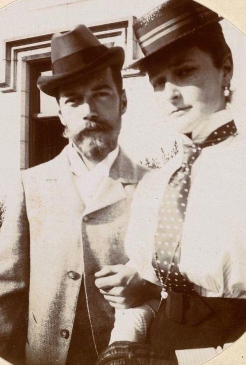 Nicholas and Alexandra. 1896