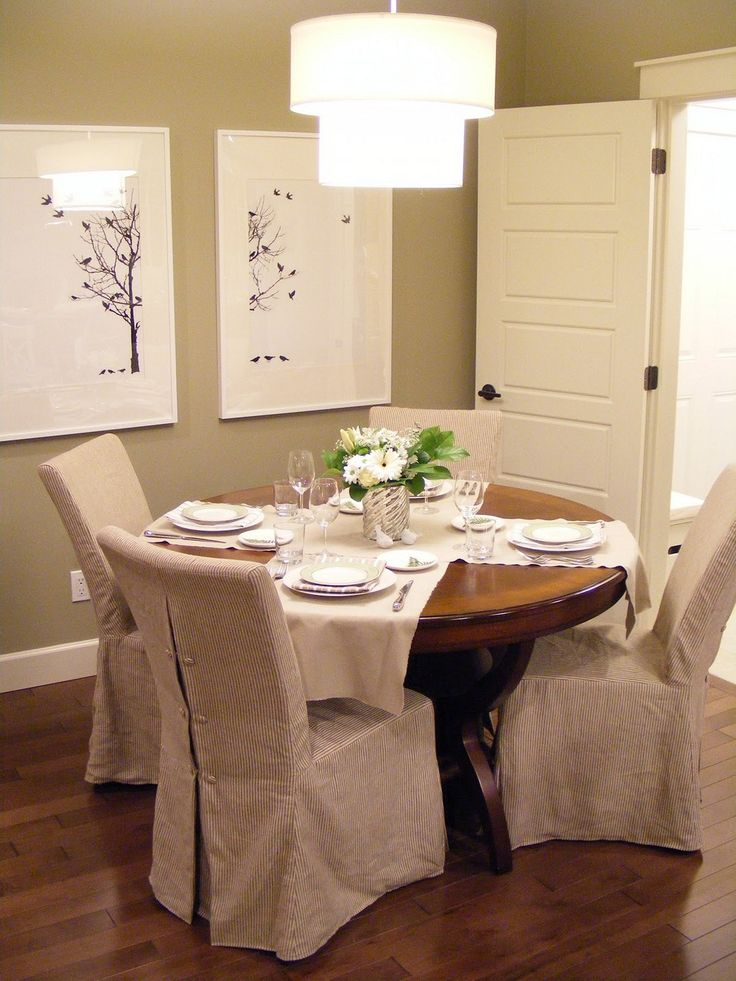 Dining Room Chair Seat Covers Slipcovers