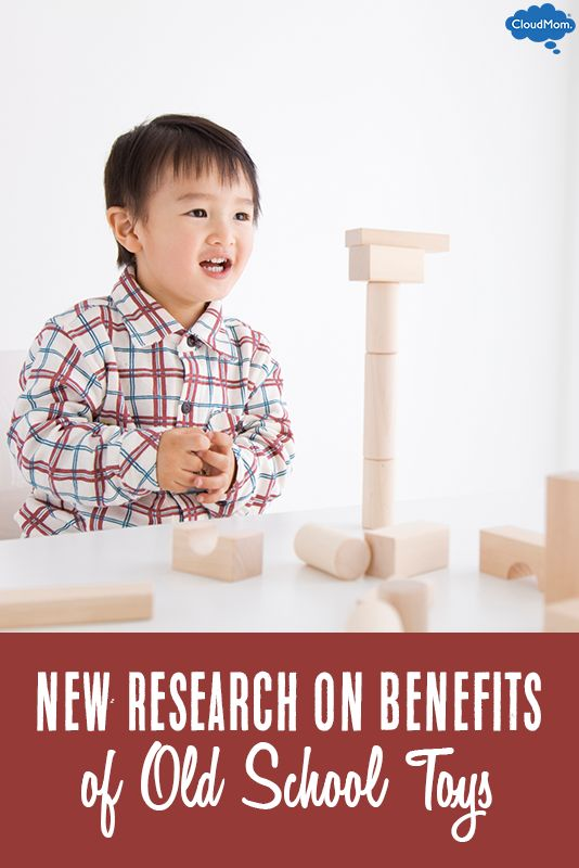 Did you know all those modern, high-tech kids toys might not be the best for your child's development? New research shows the benefits of old school toys compared to modern toys for kids. Interesting read!